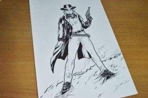 Cowboy Assassin by abe70280