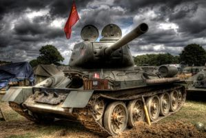 t-34 HDR by Lemminguk