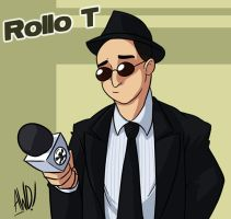 TGWTG Toonize - Rollo T by AndrewDickman