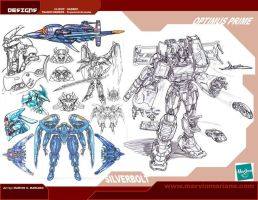 Transtech-Armada set1 by marvisionart