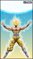 Son Goku energy by DBZwarrior