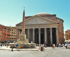 Rome - Pantheon by PhilsPictures