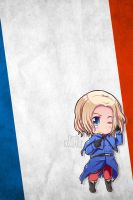 Hetalia iWallpapers - France by Dreamweaver38