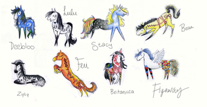 *Adoptables* by anniehorselover