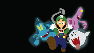 Luigi's Mansion Wallpaper by Oldhat104