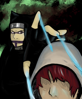 Kankuro's New Puppet by LilMis