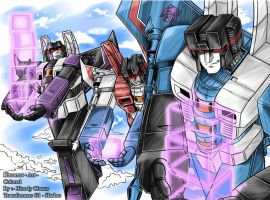 TF G1 Seekers by BloodyChaser