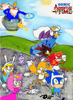 Sonic Adventure Time by DeeFeu