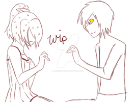 Romeo And Cinderella Vanny And Turbo Wip by AnimeGurl1012