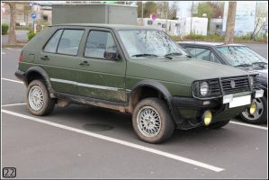 VW Golf Country by 22photo