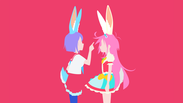 Flip Flappers wallpaper by Carionto