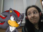 Me And Shadow by rockgothicgirl