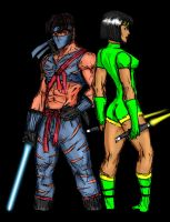 Killer Instinct: Orchid and Jago by DHK88