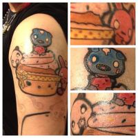 Kawaii Cupcake Tattoo by mAi2x-chan