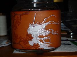 Unicorn Jar 25 by dragoon811