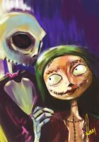 Jack and Sally by Kleur