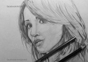 Quick Sketch - Danni Minogue by shosansharma