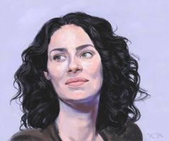 Joanne Kelly sketch by tonyob