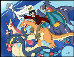 .::My Pokemon Team::. by RakkuGuy