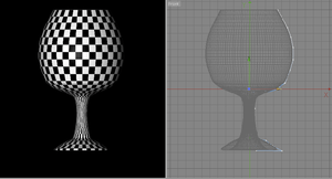 Checker texture for UV editing by Waterdroplet-s