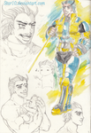 Humanized Morpheus sketches by Star10