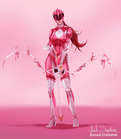 Pink Ranger by IsaiahStephens