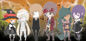 SM: Halloween SC by Kialun