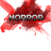 """Horror"" style text by dnl89"