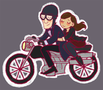The Doctor and Clara by supinternets