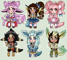 Base Test Eeveelution Adopts AUCTION (1/6 OPEN) by TheRiffonAssassin