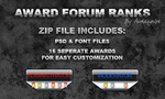 Award Forum Ranks by bry5012