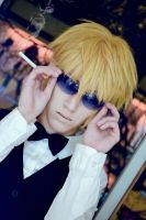 Shizuo - Don't get in my way~ by AmiTheStalker