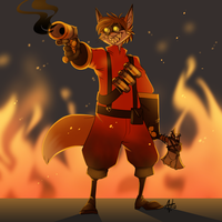 Livestream Commission - Foxydude 8 by AdriOfTheDead