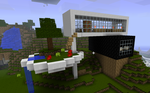 Minecraft House 2 by aviansie