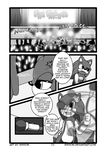 Sonic on stage page 1 by TheDarkShadow1990
