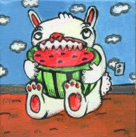 Melon Bunny by MBLASTER