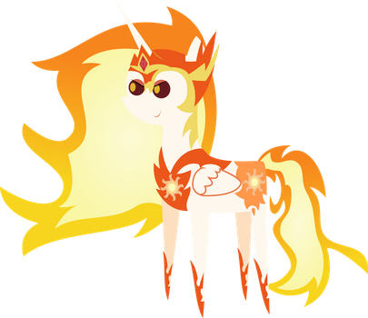 Pointy Pony - Daybreaker by SketchMCreations