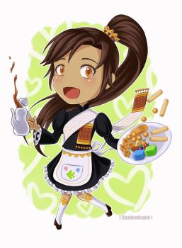 Hetalia APH : Thai Maid by youngthong-art