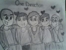 One Direction DP version by maryphantom11