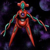 Deoxys by The-Bomb-Dot-Com