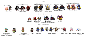 Zelda DnD ~ Main Party and Session 1 Sprites by ACE-Spark