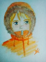 Kenny watercolor by signore-illusionista