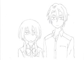 Usui and Misaki are not amused by Westerfarmer