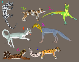 Gecko Dog Adoption OPEN LOWERED PRICE by Krovtymah