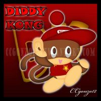 Diddy Kong Chao by CCgonzo12