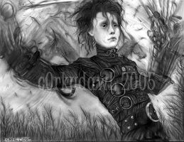 Edward Scissorhands by c0rkydawL