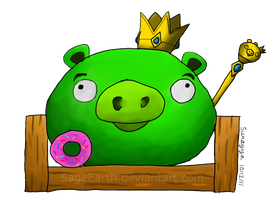 -King Pig- by TierraVerde