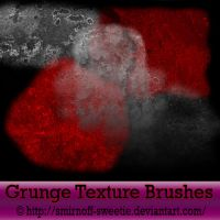 Grunge Texture Brushes by Smirnoff-Sweetie