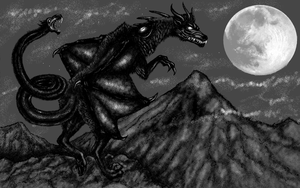 Demon of the Mountains by WhiteWolfCrisis13