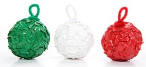 Duct Tape Crinkle Ornaments by DuckTapeBandit